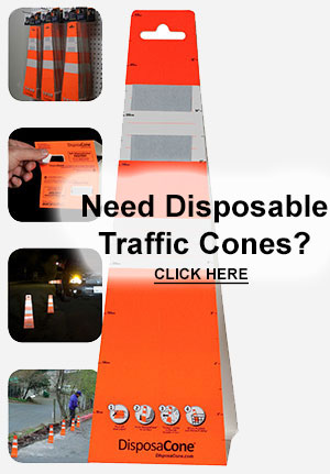Disposable Traffic Cones